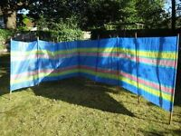 Large windbreak, suitable for beach or camping