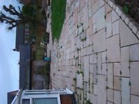 NATURAL STONE FLAGSTONES AND EDGING BLOCKS FOR SALE