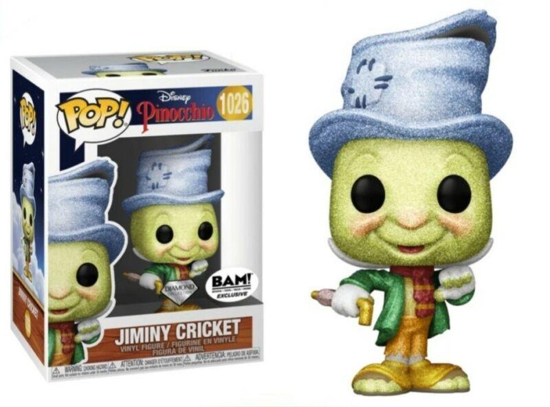Disney: Pinocchio - Diamond Jiminy Cricket Exclusive Funko Pop! Vinyl Figure