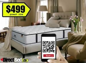 "BRAND NEW  Premium Luxury Queen Mattress MSRP $1500, only $499 ""Sleep like a Pro"""