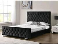 MEGA SALE NOW ON CRUSHED VELVET FRAME BEDS!!