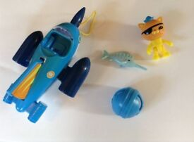 Octonauts Gup-R and Kwazii
