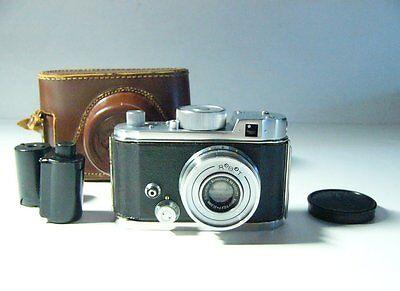Vintage Robot Camera W/ Schneider Xenar 37.5mm/f2.8,field Case Film Cartridges - $299.99