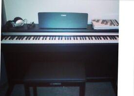 Yamaha Arius YDP-142 Digital Piano with wood stand - very light use