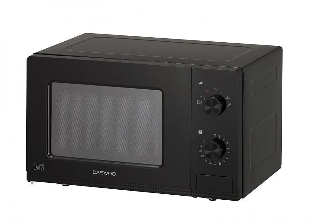 Brand New Daewoo Manual Microwave Oven 20 Litre Black