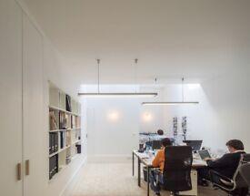 2 person workspace in Hampstead Village