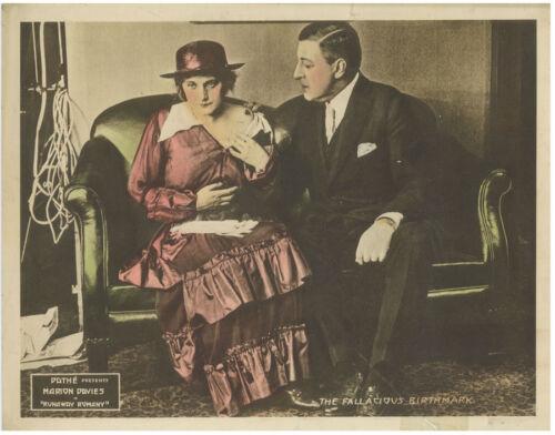 MARION DAVIES Runaway Romany Orig 1917 Lobby