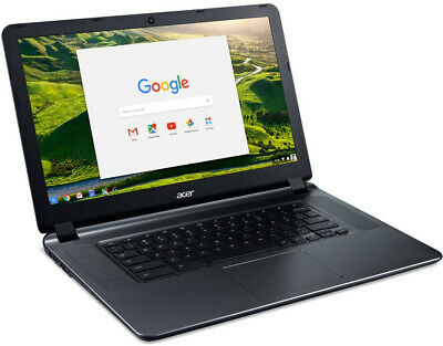Acer CB3-532-C47C 15.6 Chromebook, Chrome OS, Intel Celeron N3060 Dual-Core 2GB