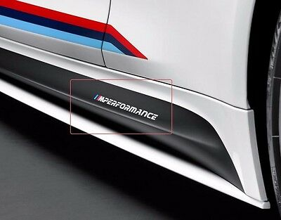 NEW M performance Motorsport SIDE vinyl decal sticker fits to BMW M series