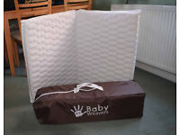 Travel Cot with Matress