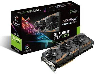 ASUS GeForce GTX1070 STRIX GAMING 8GB  8 GB  High End PCIe Grafikkarte