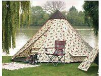 Cath Kidston RARE Eurohike 50s Western Cowboy Tent