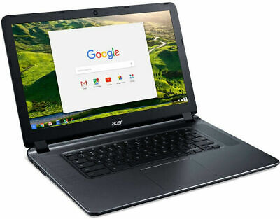 "NEW Acer 15.6"" Chromebook Intel N3060 Dual-Core Pro 2.48GHz 2GB 16GB eMMC BT"