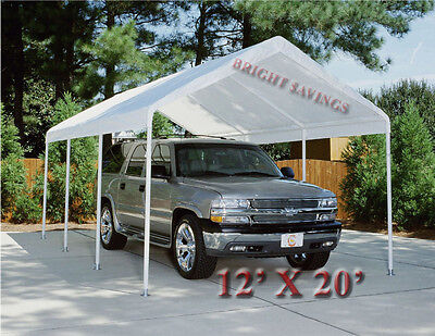 WHITE REPLACEMENT CANOPY TENT CARPORT 12