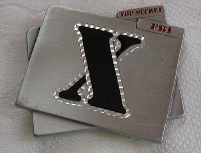 Great American Belt Buckle ,  X Files , FBI Top Secret  4395 , 1996 GAP