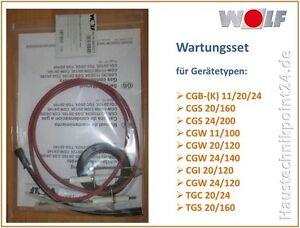 Wolf Wartungsset 8603017 CGB CGW CGS CGI TGC CGB (K) Dichtungsset Gasbrennwert