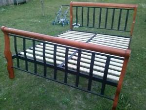 Queen Bed Frame solid and sturdy Grafton Clarence Valley Preview