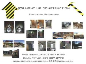 Straight Up Construction Renovation Specialists