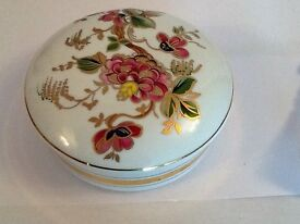 Spanish porcelain large dish with lid