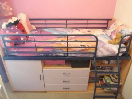 Single captain bed/loft bed
