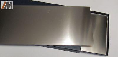 Nickel Set (Set: Nickelblech 2.4068 (LC-Ni 99) S: 0,05-0,3mm; L/B nach Auswahl +Scotchbrite)