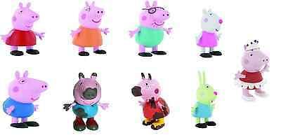 Suzy,  Mama Pig, Daddy Pig, George Spielfiguren von Comansi (Peppa Pig-george)