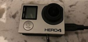 Go pro hero 4 with3 batteries and charger 2 cases