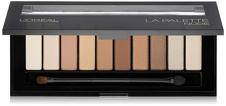L'Oreal Makeup Designer Colour Riche La Palette Eyeshadow, 0