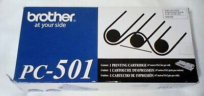 Brother Genuine Pc 501 Printing Ink Cartridge For Fax 575 Pigment Picture