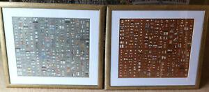 Damien Hirst Pharmacy Panels ( 1 Silver + 1 Bronze )  Unframed