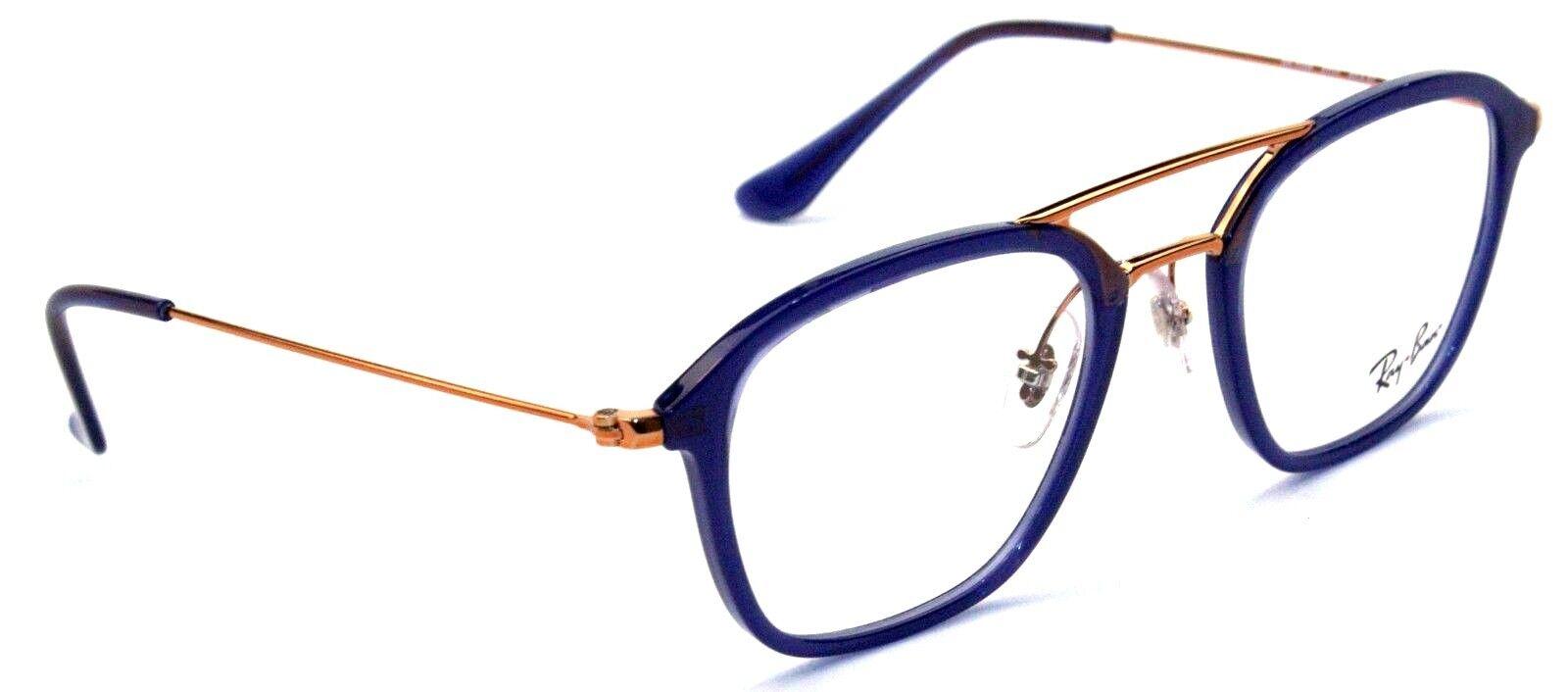 Ray-Ban Damen Herren Brillenfassung RB7098 5727 50mm  blau 470A T75