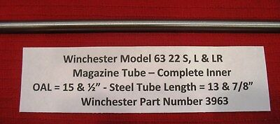 Winchester Model 63 Inner Magazine Replacement Tube - Winchester Part No 3963 ()