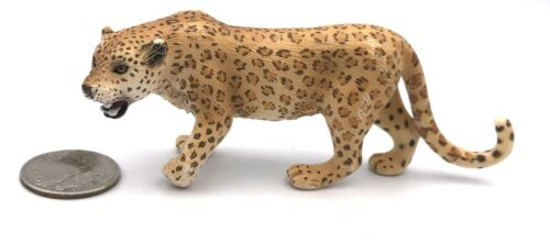 Schleich JAGUAR Leopard Female Spotted Cat Animal Figure 2006 Retired 14360
