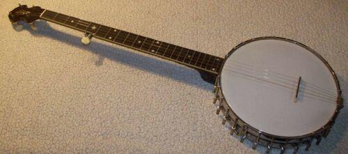 Vintage banjo, The Vega Co. Boston MA. 1920s Tubaphone No.3 - 5 string