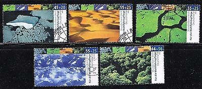 2423 - 2427 gestempelt Wohlfahrt  Bund 2004