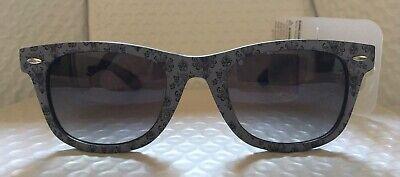 Disney Haunted Mansion Wallpaper Black and Grey Sunglasses Adult