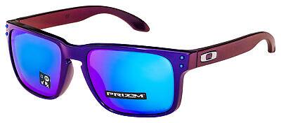 Oakley Holbrook Sunglasses OO9102-I555 Blue / Red Shift | Prizm Sapphire (Oo9102 Holbrook)