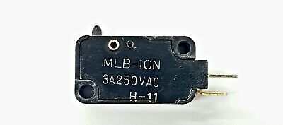 Mulon Mlb-10n Spst- On-off Push Button Plunger Micro Switch 3a 250 V Ac