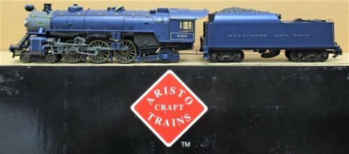 Aristocraft ART-21402 B&O 4-6-2 Pacific Steam Engine and Tender G Gauge USED