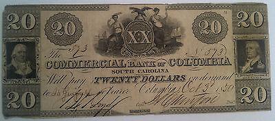 20 Commercial Bank Of Columbia South Carolina