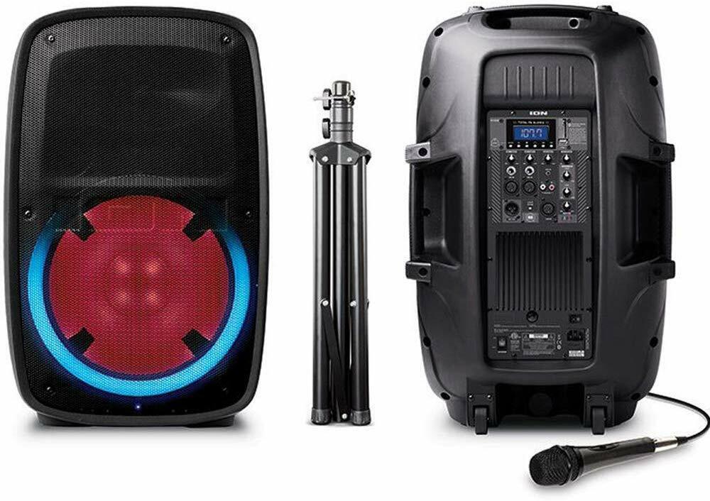 Ion Audio Total PA Plus Glow 2 High-Power 400W Bluetooth PA