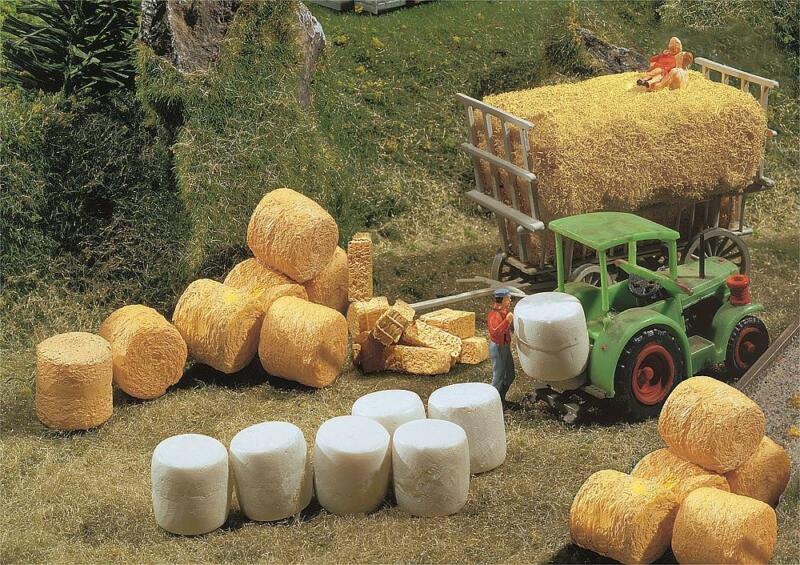 Faller 272562 - 1/160 / N Silo And Straw Bale - New