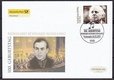 BRD 2004 Deutsche Post FDC  Reinhard Schwarz-Schilling