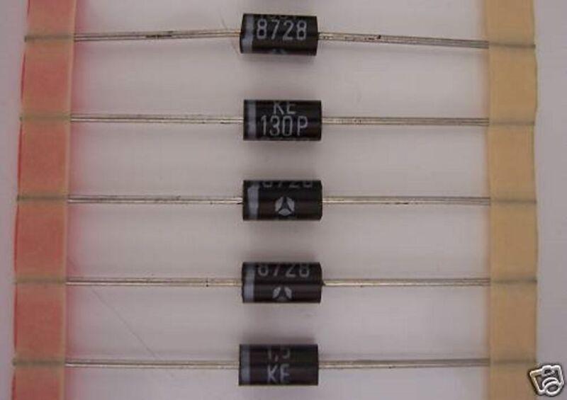 THOMSON 1.5KE130P TRANSIENT VOLTAGE SUPPRESSORS (10 PCS)