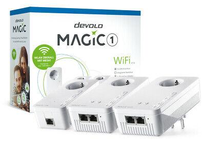 Devolo Magic 1 Wifi Multiroom Conjunto Powerline Alcance Hasta 400m Mesh WLAN