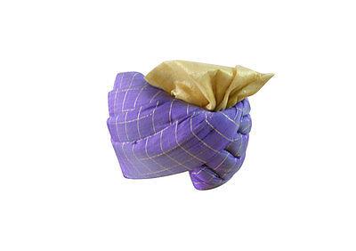 Men Hat Handmade Designer Pagri Banarasi Groom Safa Indian Turban Pag Top Hat