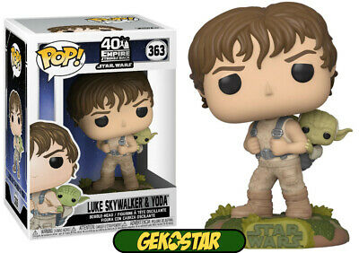 Luke Skywalker & Yoda - Star Wars Funko Pop Vinyl