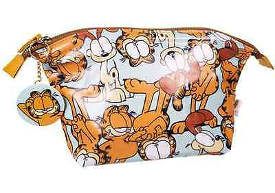 NEW OFFICIAL Ladies Garfield and Odie RETRO WASH/TOILETRY / MAKEUP BAG