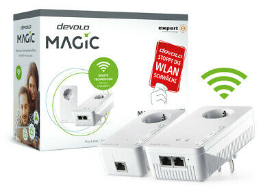 Devolo Magic 1200 + Wifi Kit de Inicio Powerline Mesh WLAN Amplificador...