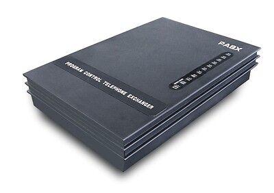3 Lines8ext Pbx Telephone Switch Mini Pabx Soho Pbx Small Pabx